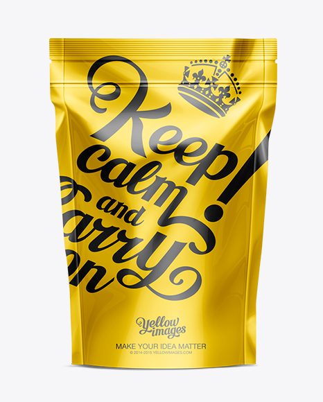 Stand Up Pouch Designs : Stand up pouch with zipper mockup in mockups on