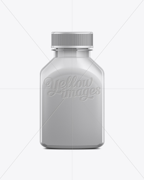 250ml Plastic Juice Bottle Mockup In Bottle Mockups On