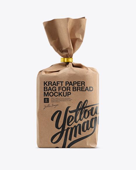 Brown Paper Bag Design Template