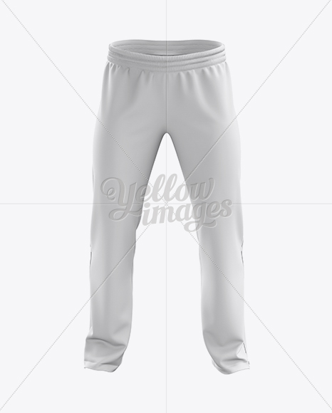 Sport Pants Mockup - Back View in Apparel Mockups on Yellow Images ...