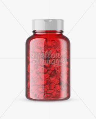 1l dishwashing liquid bottle mockup mockups for for Red fish oil