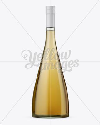 Glass Bottle W Orange Juice Mock Up Mockups For