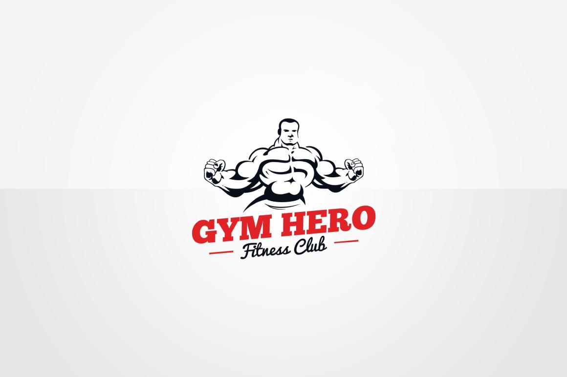 Gym Logo Design Psd