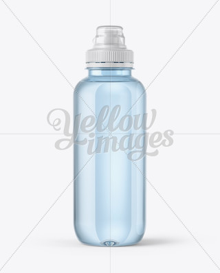 330ml glass water bottle mockup in bottle mockups on Depot outlet bochum