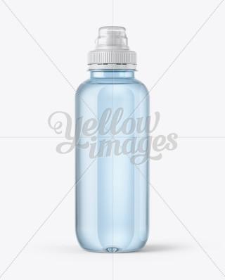 330ml glass water bottle mockup in bottle mockups on for Depot outlet bochum