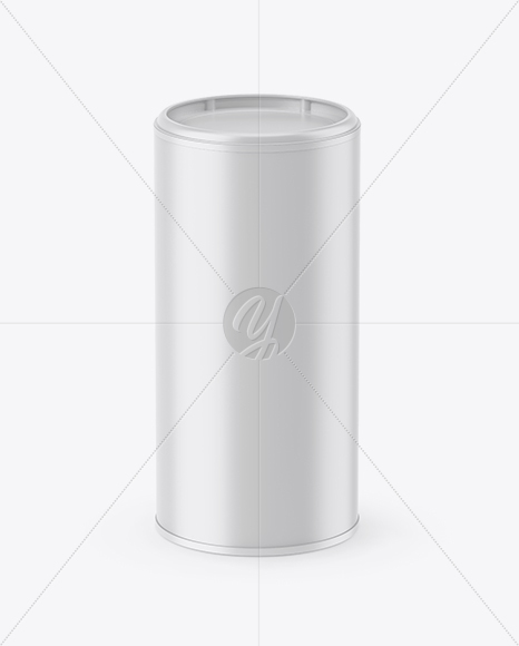 Matte Tea Jar Mockup (High-Angle Shot)