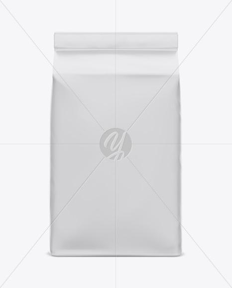 Matte Paper Flour Bag Mockup