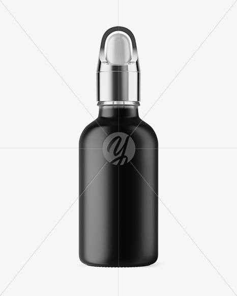 Frosted Glass Dropper  Bottle