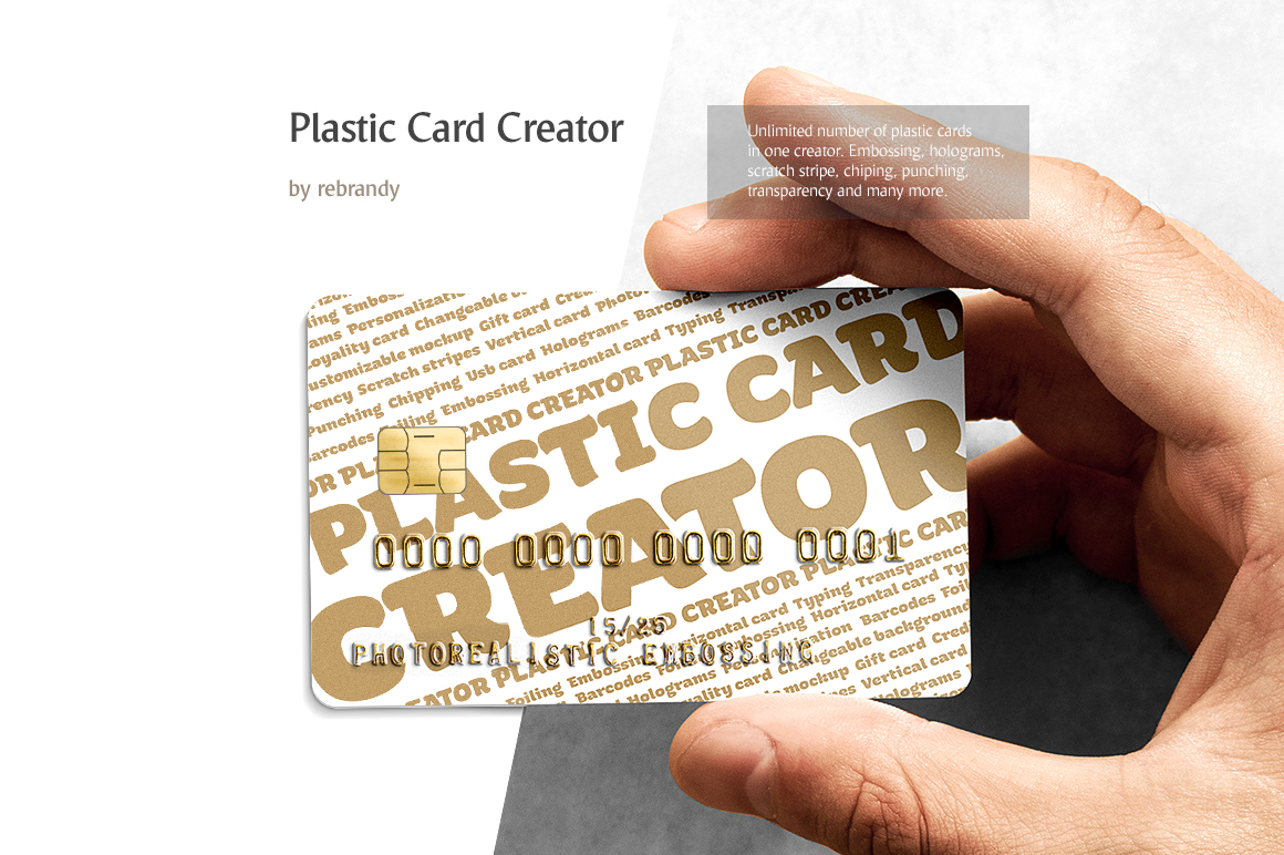 Plastic card creator in stationery mockups on yellow images creative plastic card creator id 16582 in stationery mockups 4 0 0 reheart Choice Image