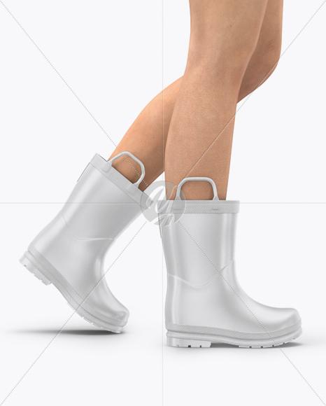 Rain Boots Mockup