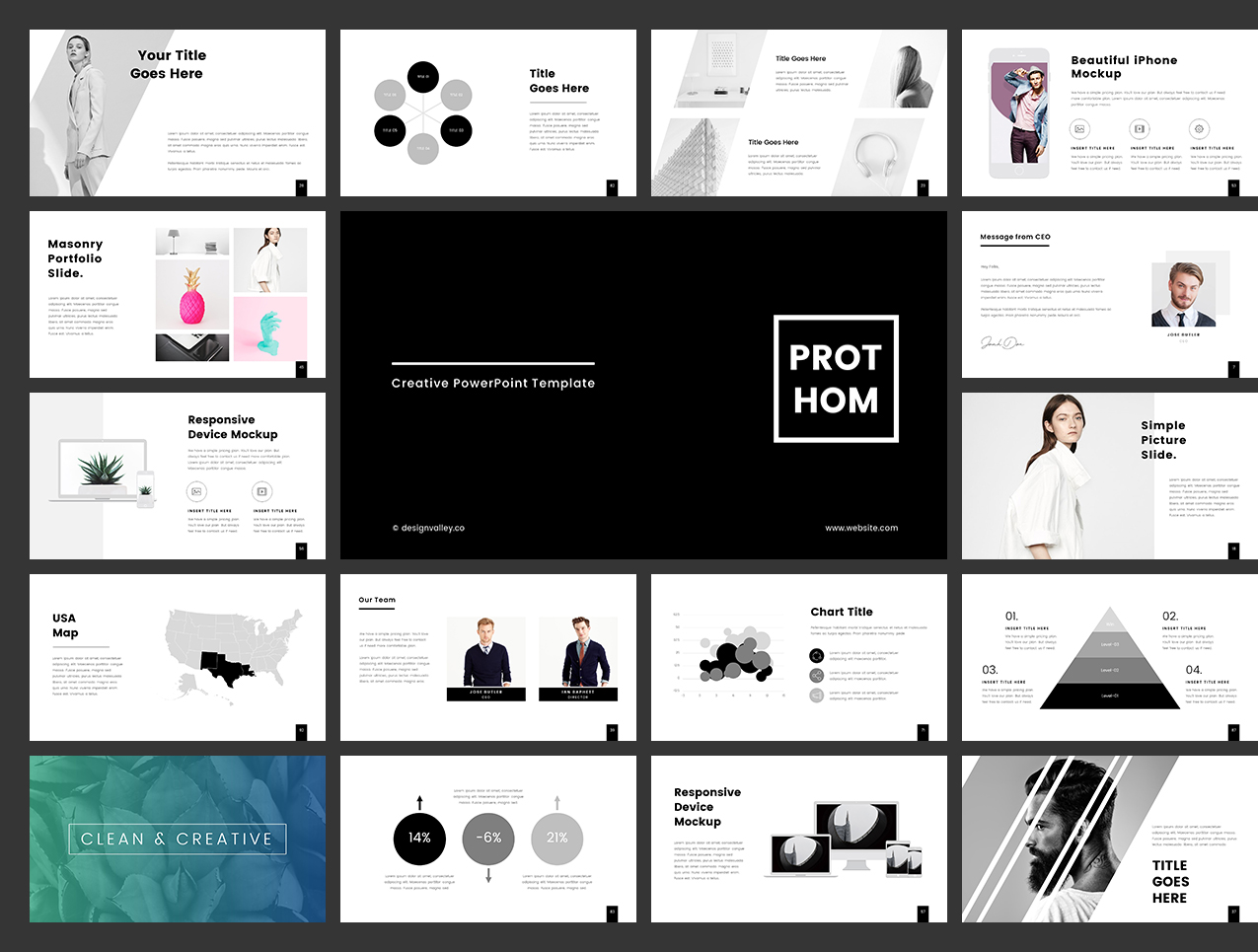 Prothom Powerpoint Presentation Template In Presentation Templates
