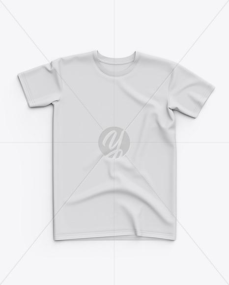 Men's Classic Regular T-Shirt - Top View