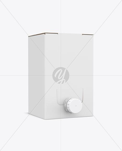 Bag-in-Box Mockup