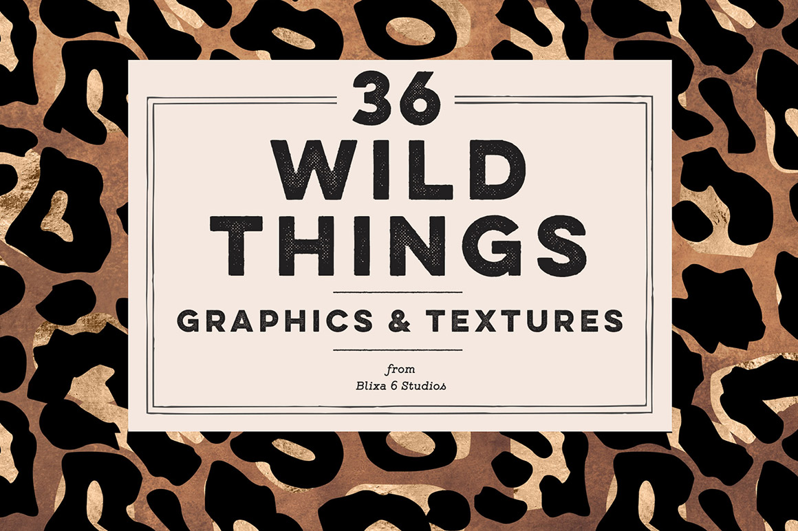 28bf958d71 36 Wild Things Golden Animal Prints in Patterns on Yellow Images ...