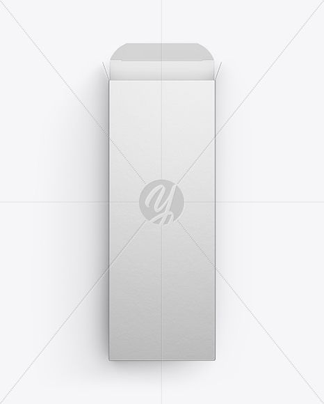 Opened Metallic Box Mockup