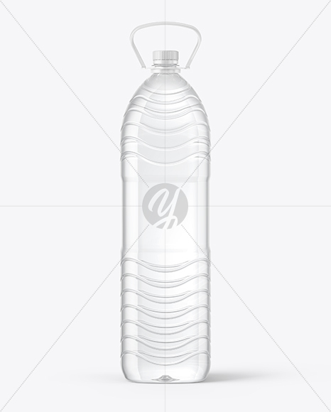 1L PET Water Bottle Mockup