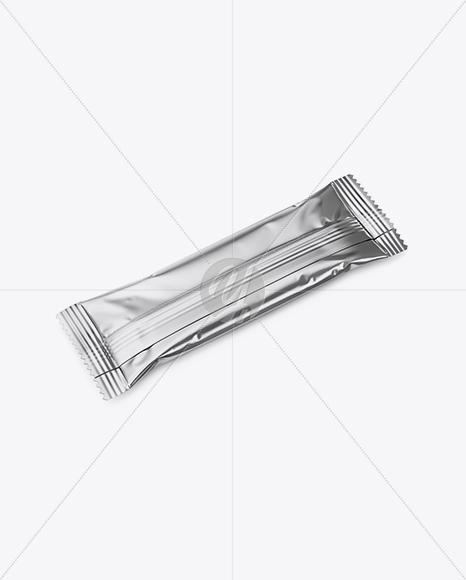 Metallic Snack Bar Mockup