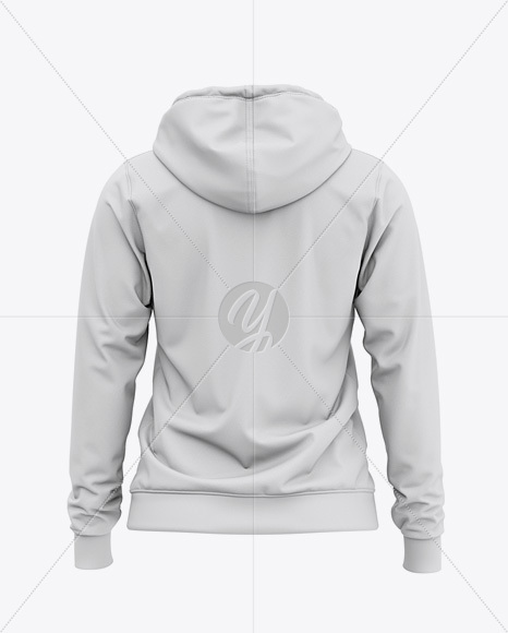 Women's Full-Zip Hoodie - Back View