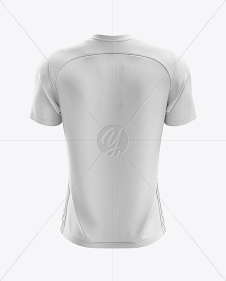 Men's Soccer Jersey mockup (Back View)