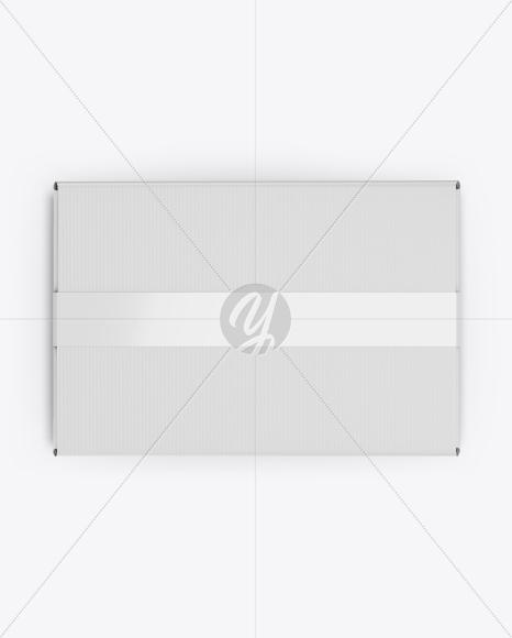 Box w/ Duct Tape Mockup