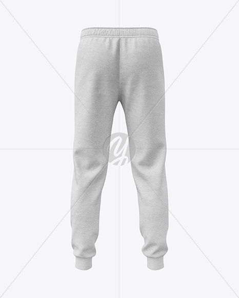 Melange Men's Sport Pants Mockup