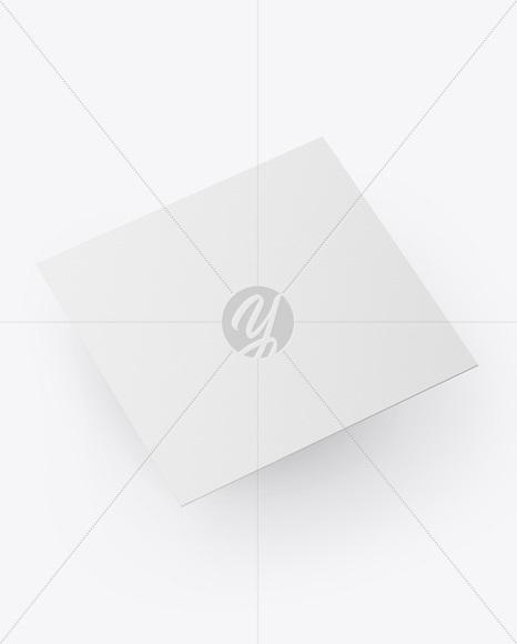 Paper Business Card Mockup