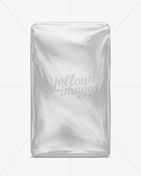 Plastic Food Package Mock-Up In Bag & Sack Mockups On